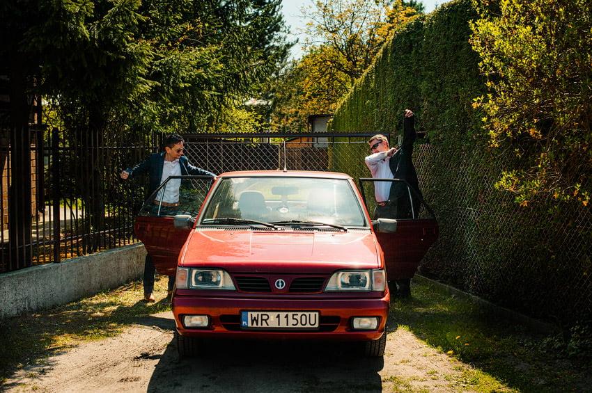 fotografia slubna milanowek 006 - Ania & Krzysiek | Ślub i wesele w Osadzie Młyńskiej