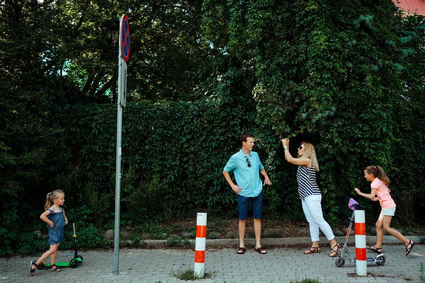 sesja rodzinna plaza nad wisla Warszawa 007 - Sesja rodzinna